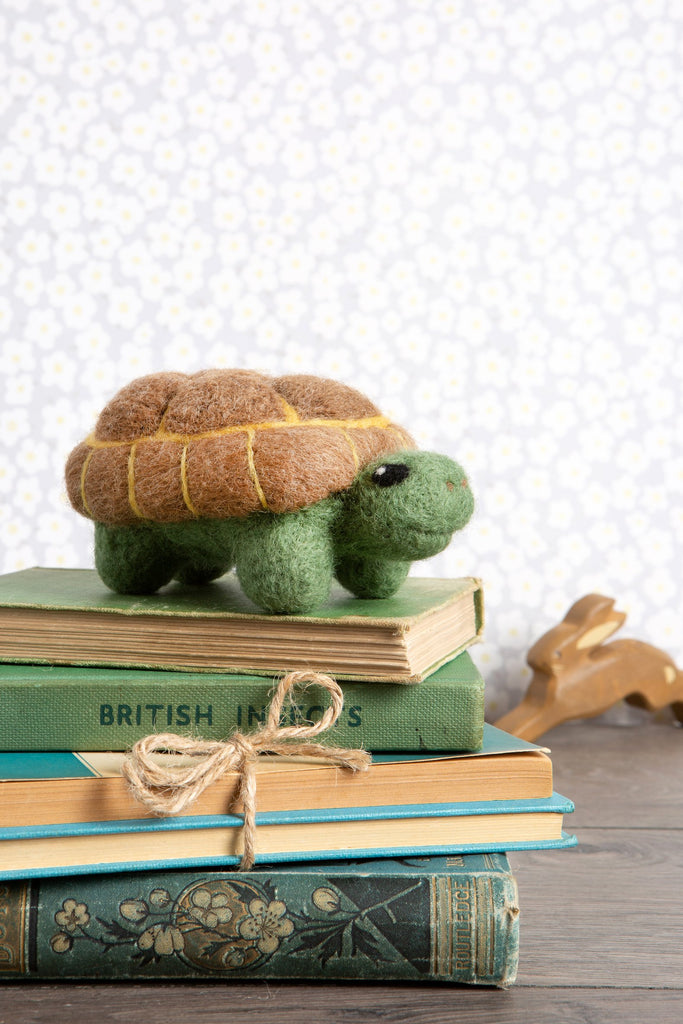 Tortoise Needle Felting Kit