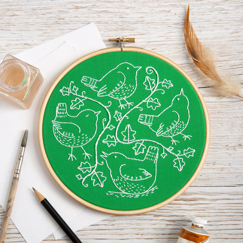 Wandering Wrens Embroidery Kit