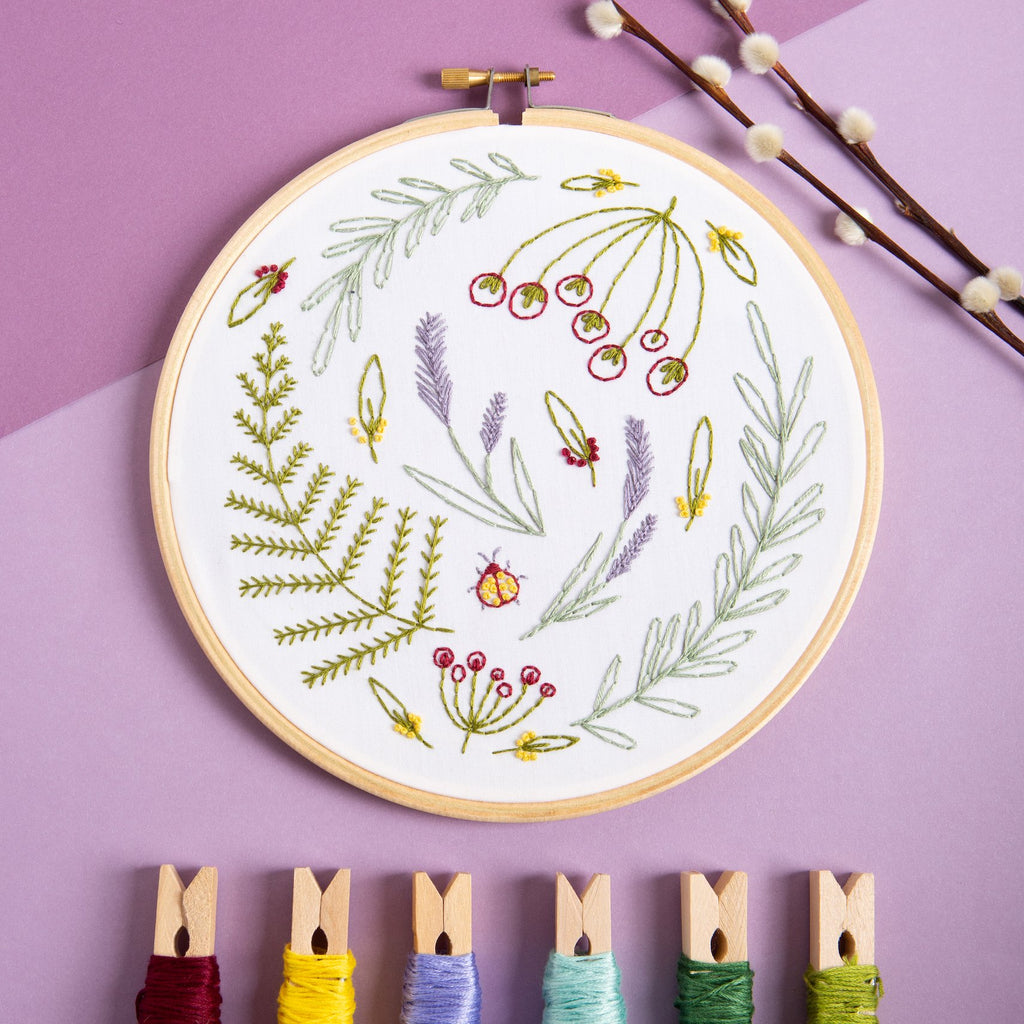 Wildwood Embroidery Kit