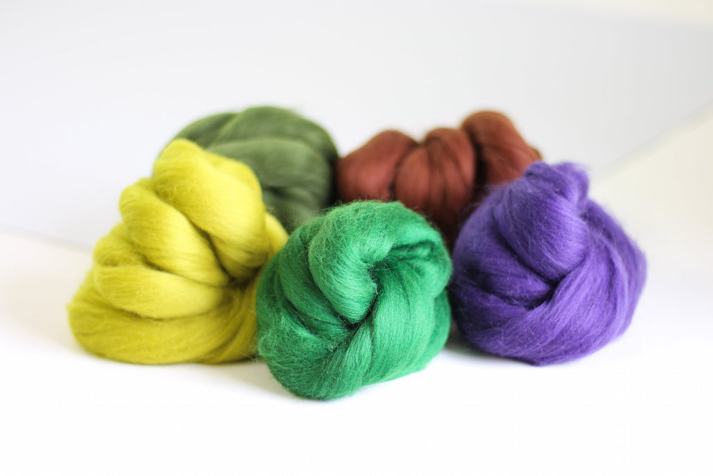 Woodland Colours Wool Bundle
