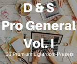 33 Pro General Lightroom Presets - Premium Lightroom Presets - Dreams & Spark