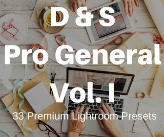 33 Pro General Lightroom Presets