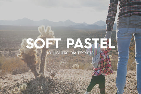 Lightroom Presets - 10 Soft Pastel Lightroom Presets