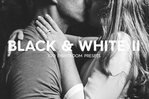 Lightroom Presets - 100 Black & White Lightroom Presets Vol. II
