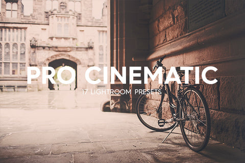 Lightroom Presets - 17 Pro Cinematic Lightroom Presets Vol. I