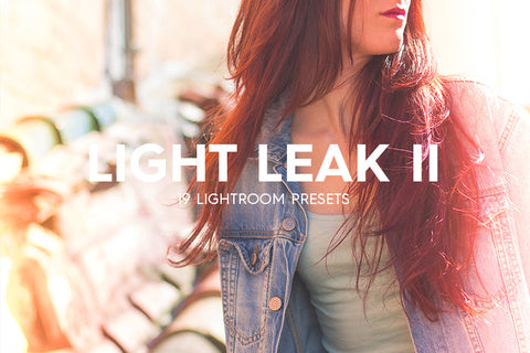 Lightroom Presets - 19 Light Leak Kit Lightroom Presets Vol. II