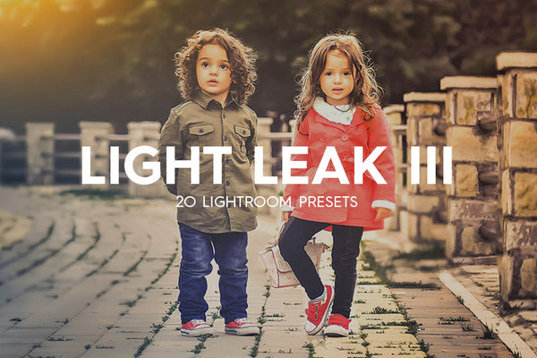 Lightroom Presets - 20 Light Leak Kit Lightroom Presets Vol. III