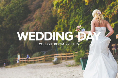 Lightroom Presets - 20 Wedding Day Lightroom Presets Vol. I