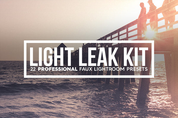 Lightroom Presets - 22 Light Leak Kit Lightroom Presets Vol. I