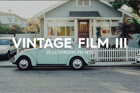 Lightroom Presets - 25 Vintage Film III Lightroom Presets