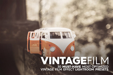 30 Vintage Film I Lightroom Presets - Premium Lightroom Presets - Dreams & Spark
