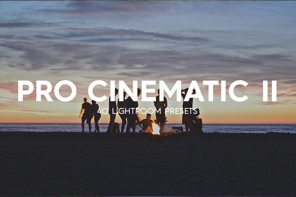 40 Pro Cinematic Lightroom Presets Vol. II - Premium Lightroom Presets - Dreams & Spark
