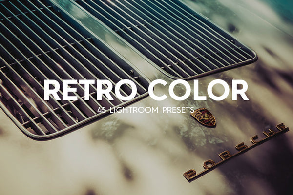 Lightroom Presets - 45 Retro Color Lightroom Presets