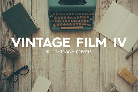 Lightroom Presets - 52 Vintage Film IV Lightroom Presets