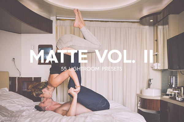 55 Matte Lightroom Presets Vol. II - Premium Lightroom Presets - Dreams & Spark