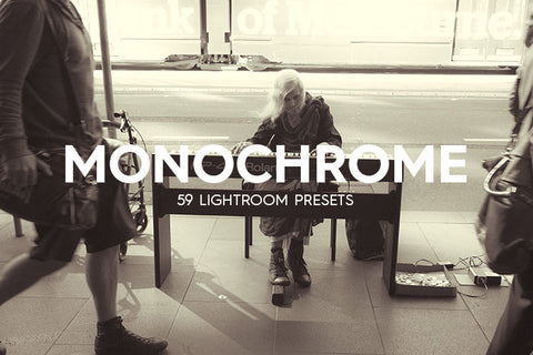 59 Monochrome Lightroom Presets - Premium Lightroom Presets - Dreams & Spark