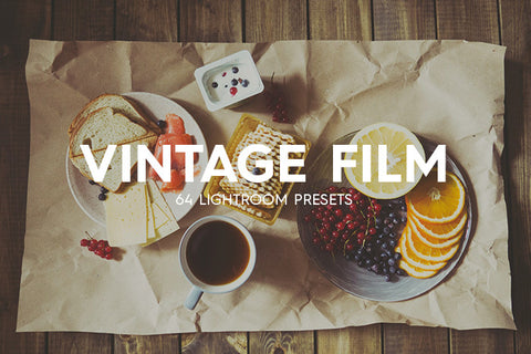 64 Vintage Film II Lightroom Presets - Premium Lightroom Presets - Dreams & Spark