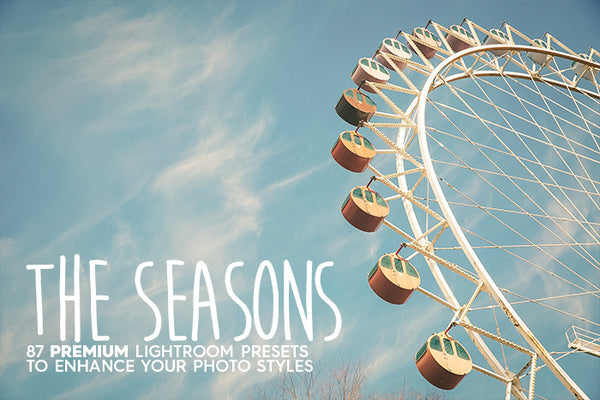 87 The Seasons Lightroom Presets - Premium Lightroom Presets - Dreams & Spark