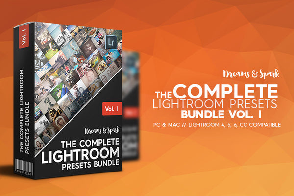 D&S The Complete Lightroom Presets Bundle - Premium Lightroom Presets - Dreams & Spark