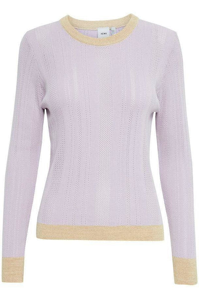 Lilac Knitted Pullover - Sarah Alexandra Boutique