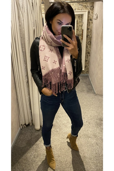 Lucy Scarf Mink - Sarah Alexandra Boutique