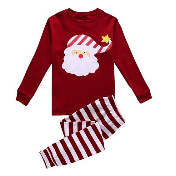 Christmas Kid Pajamas - Berry Santa