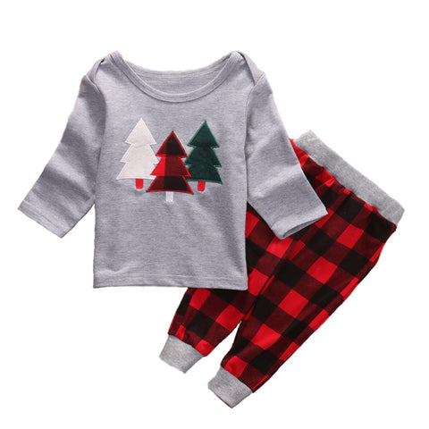 Christmas Kid Pajamas - Christmas Tree