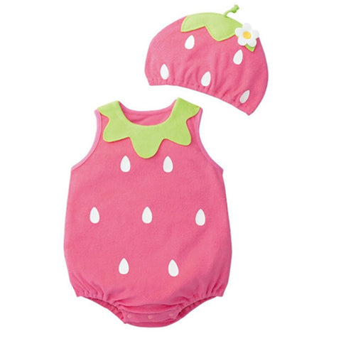 Baby Costume - Strawberry