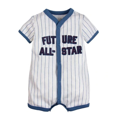 Crawling Baby Rompers - Future All Star