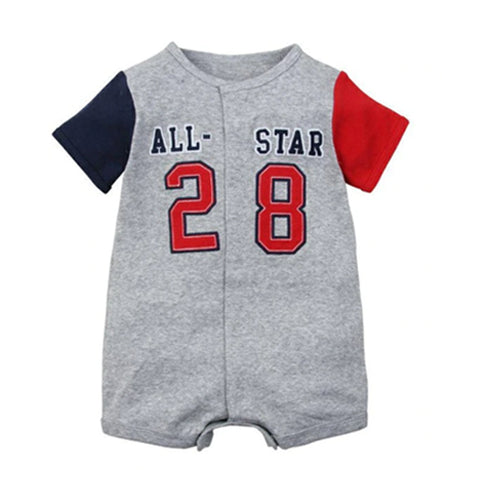 Crawling Baby Rompers - All Star 28