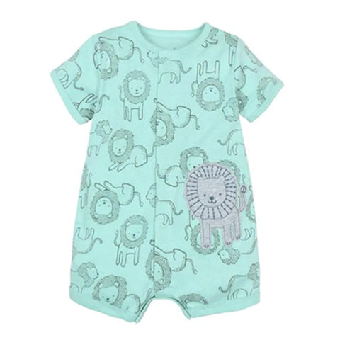 Crawling Baby Rompers - Lion