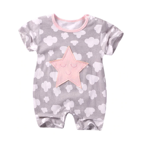 Crawling Baby Rompers - Star