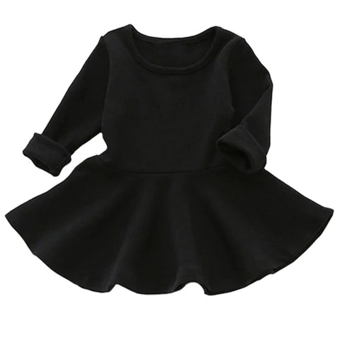 Black Sweater Baby Dress