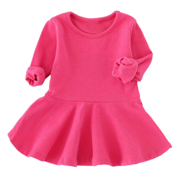Rose Sweater Baby Dress