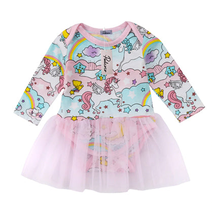 Unicorn Tutu Baby Dress