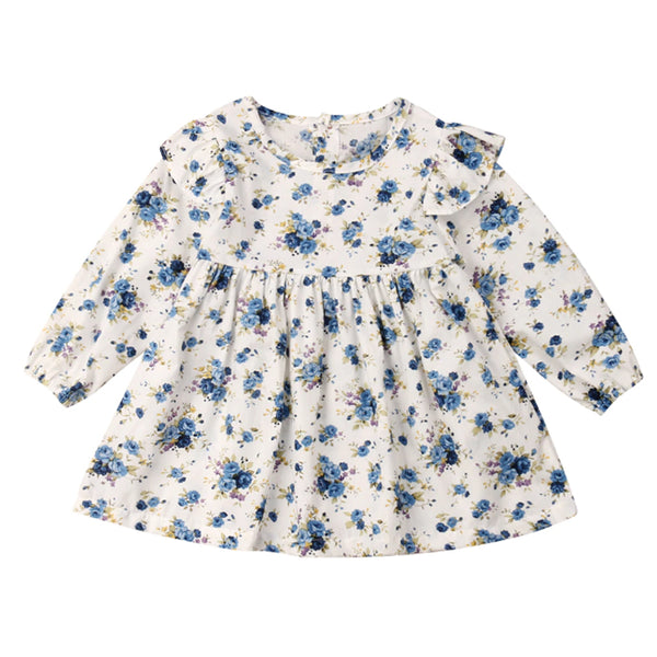 Every Occasion Dress - Blue Flower