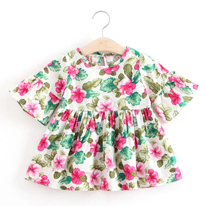 Floral Baby Dress - Gianna