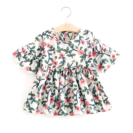 Floral Baby Dress - Isla