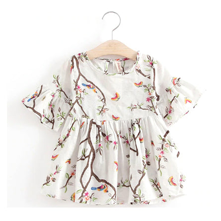 Floral Baby Dress - Serenity