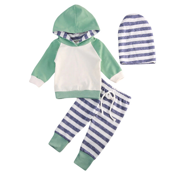 Hooded Baby Outfits - Dylan