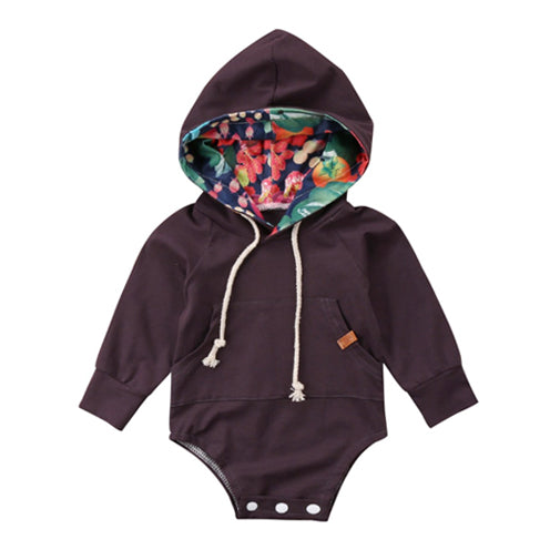Hooded Baby Tops - Autumn