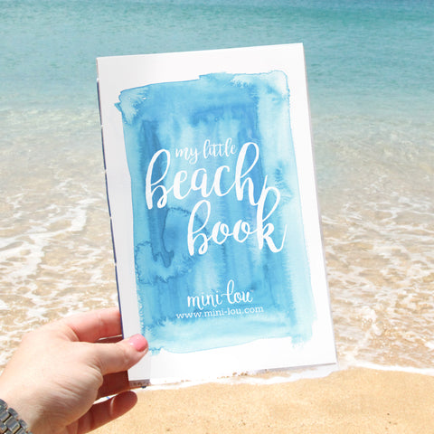 Beach Activity Book | Digital Printable | Free