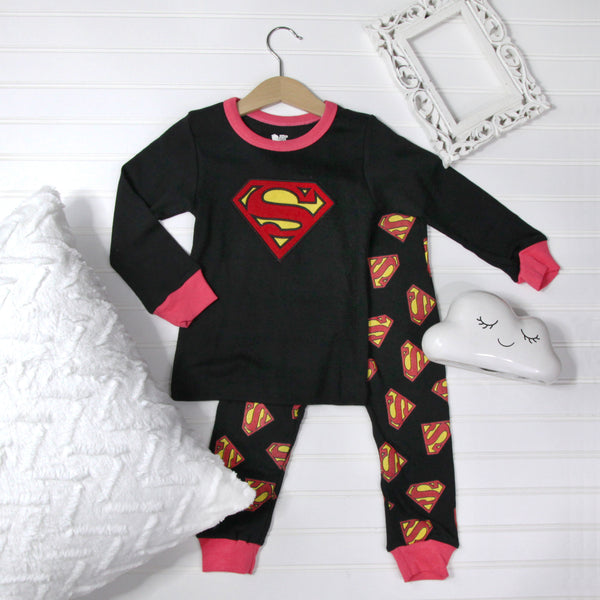 Warm Kid Pajamas - Superman