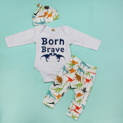 Full Baby Outfits - Brave