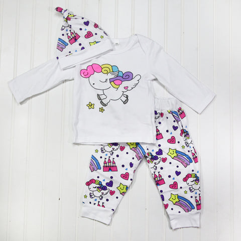 Full Baby Outfits - Unicorn