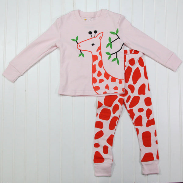 Fall Kid Pajamas - Giraffe