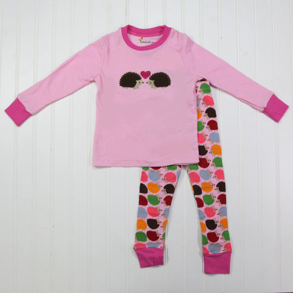 Fall Kid Pajamas -  Hedgehog