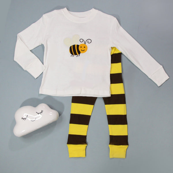 Fall Kid Pajamas -  Bee