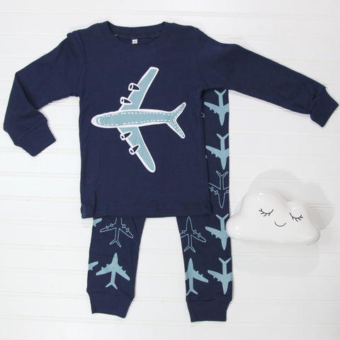 Fall Kid Pajamas - Airplane