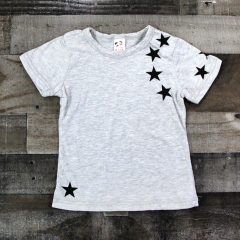 Boy T-shirts - Gray Star